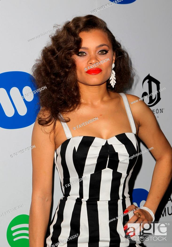 The Warner Music Group GRAMMY Party Featuring: Andra Day