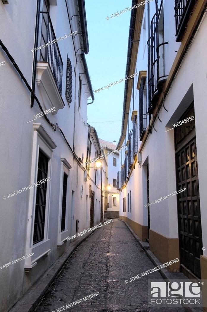 Stock Photo: 'Judería' (Jewish quarter), Cordoba. Andalusia, Spain.