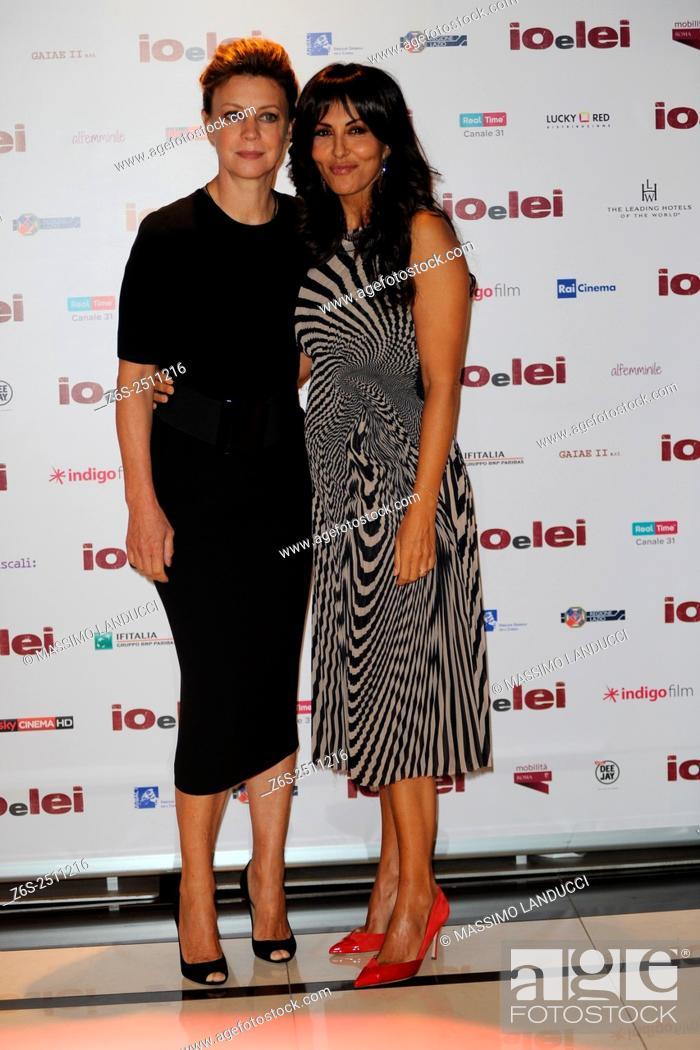 Imagen: Sabrina Ferilli e Margherita Buy; ferilli e buy; actress; celebrities; 2015; rome; italy; event; photocall ; io e lei.