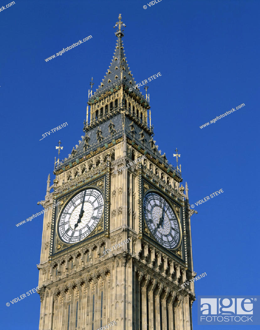 Stock Photo: Big ben, England, United Kingdom, Great Britain, Heritage, Holiday, Landmark, London, Tourism, Travel, Unesco, Vacation, World,.