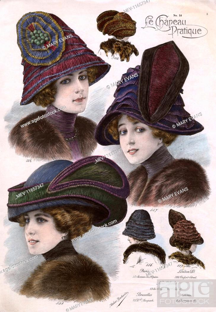 Victorian style hats for women