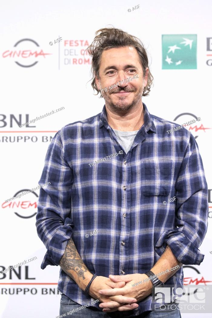 """Stock Photo: Alex Infascelli attends the photocall of the movie """"""""Mi chiamo Francesco Totti"""""""" during the 15th Rome Film Festival on October 17, 2020 in Rome, Italy."""