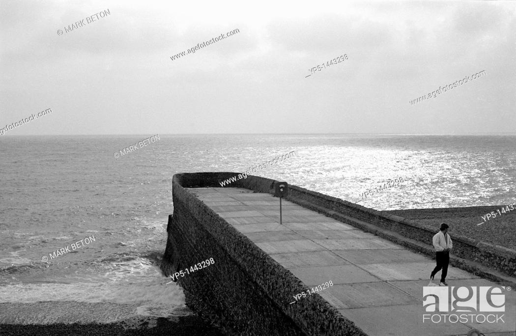 Stock Photo: Jetty at Brighton Sussex.