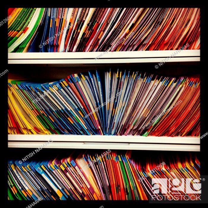 Stock Photo: File Cabinet.