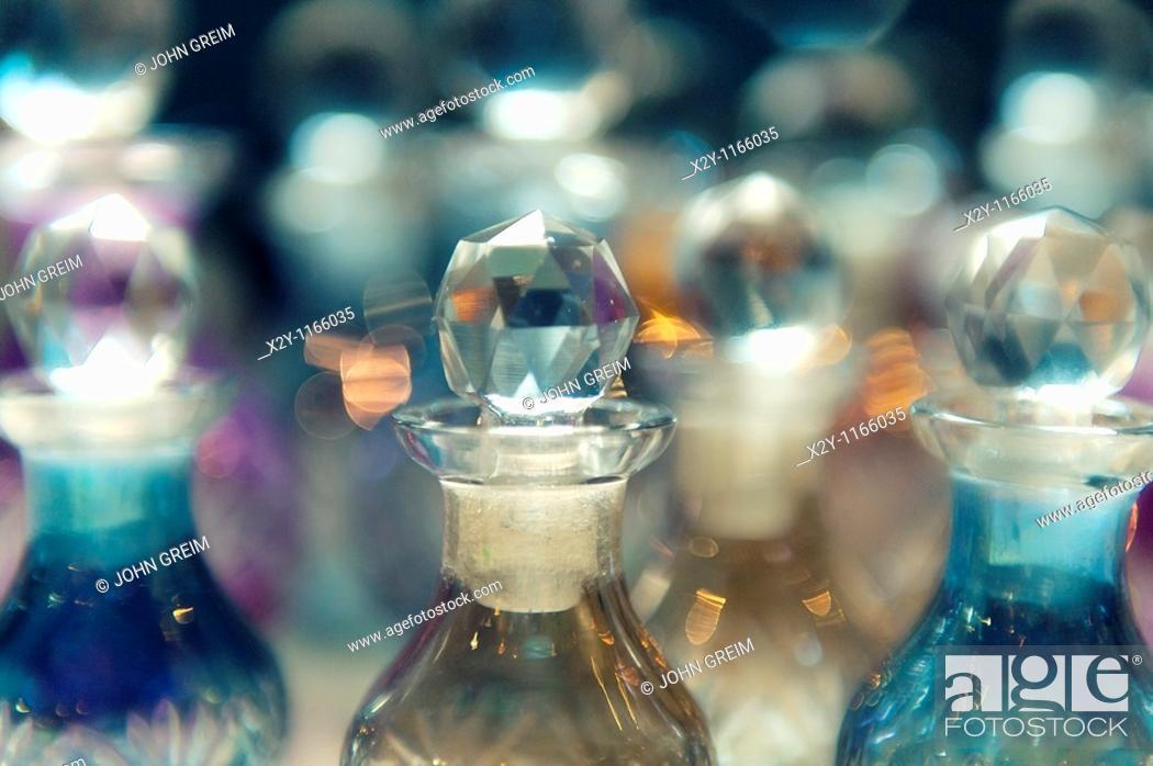 Stock Photo: Perfume bottles.