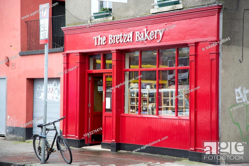 Stock Photo: Bakery, Portobello District, Dublin, Leinster, Ireland.