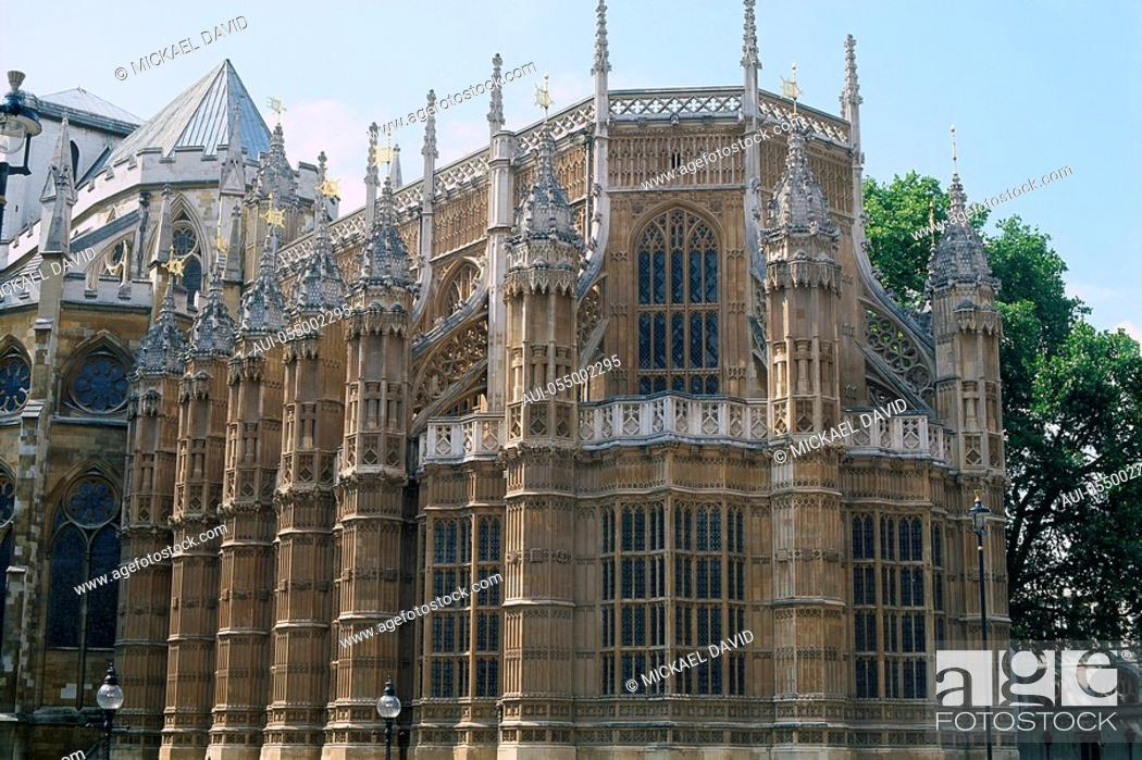 Stock Photo: England - London - Westminster Abbey.