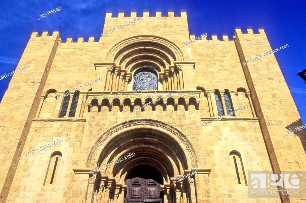 Imagen: The Old Cathedral, Sé Velha, XIIth century, Romanesque. Coimbra, Portugal.