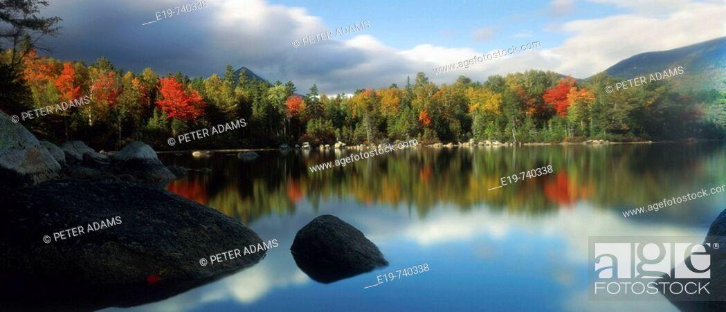 Stock Photo: Maine, New England, USA.