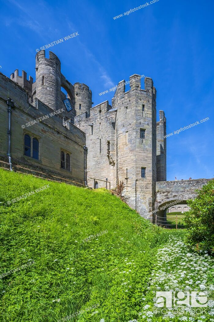 Imagen: Warwick Castle, Warwickshire, West Midlands, England, United Kingdom, Europe.
