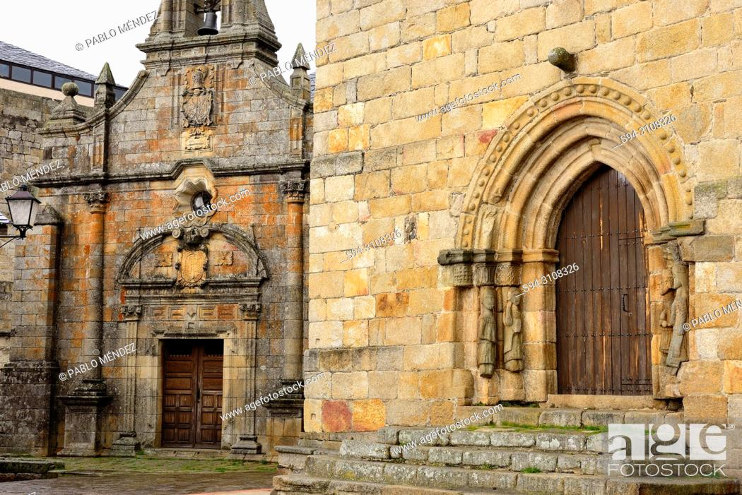 Imagen: Church of Santa Maria del Azogue and chapel of San Cayetano, Puebla de Sanabria, Zamora, Spain.