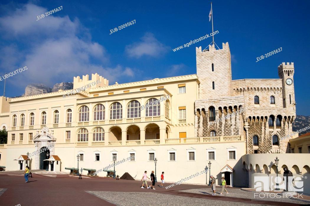 Stock Photo: Princes Palace, Palais Princier.