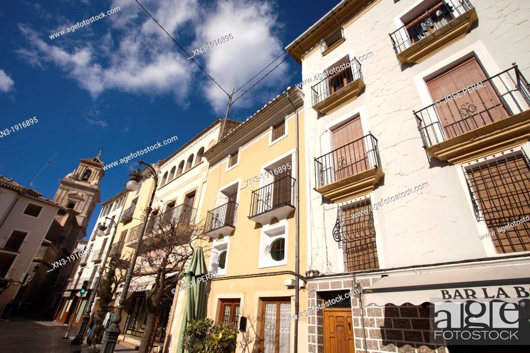 Stock Photo: Caravaca de la Cruz, Murcia province, Spain, Europe.