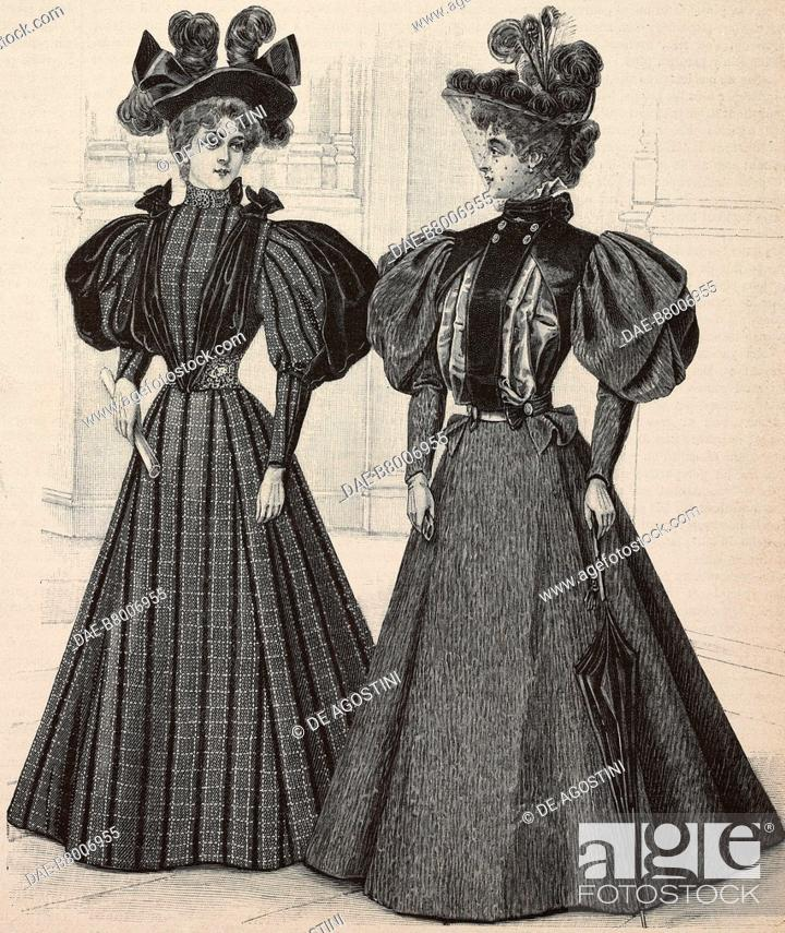 Women wearing a Scottish dress and a skirt with bodice