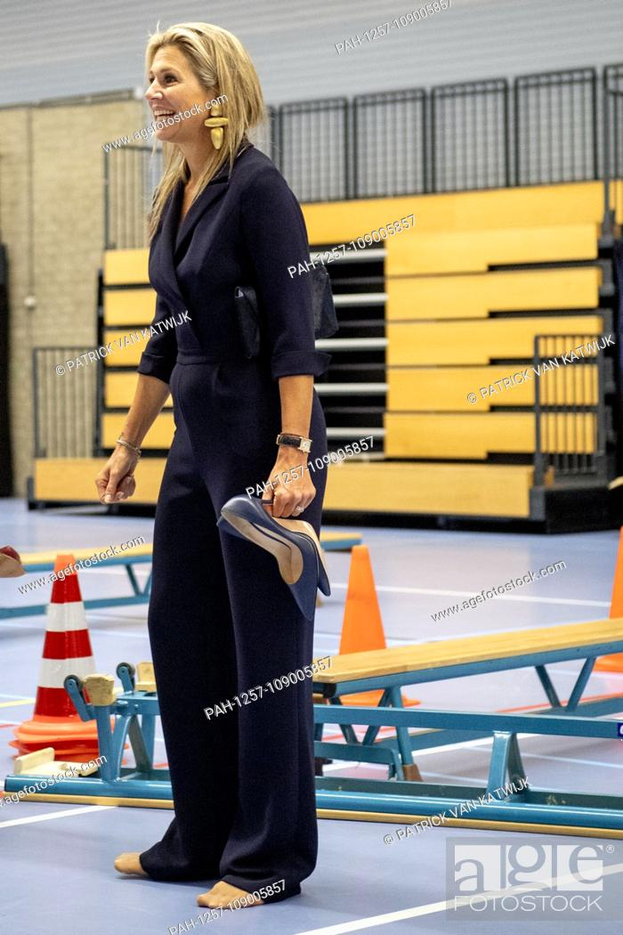 Queen Maxima of The Netherlands visits Lets Youth