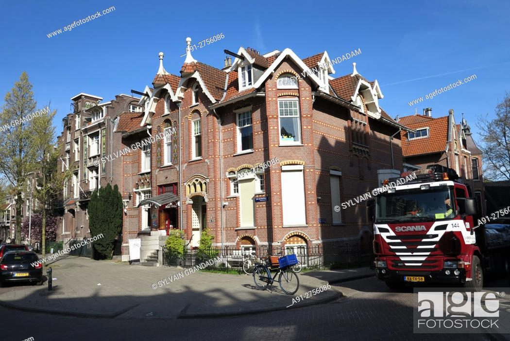 Stock Photo: Netherlands, Amsterdam, Atlas Hotel near Vongelpark.