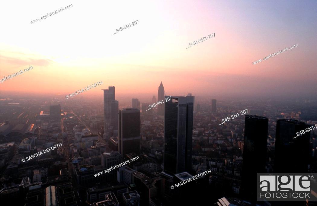 Stock Photo: Frankfurt.Main - Hesse - Germany.