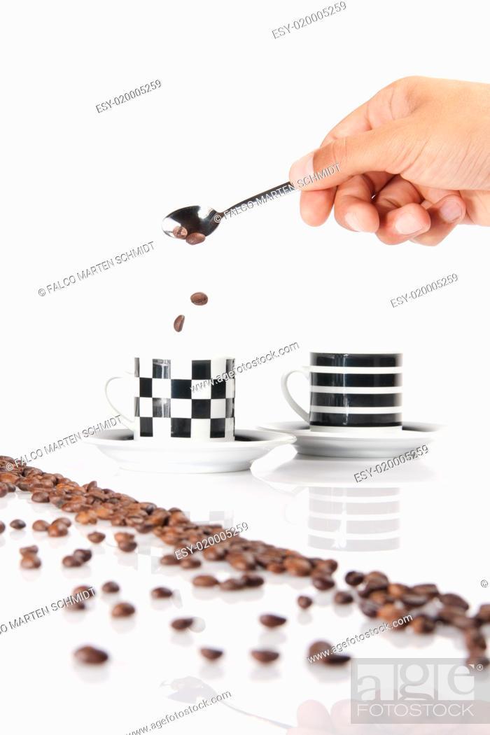 Imagen: Kaffeebohnen.