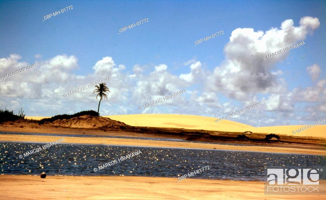Stock Photo: Jericoacoara, Ceará, Brazil.