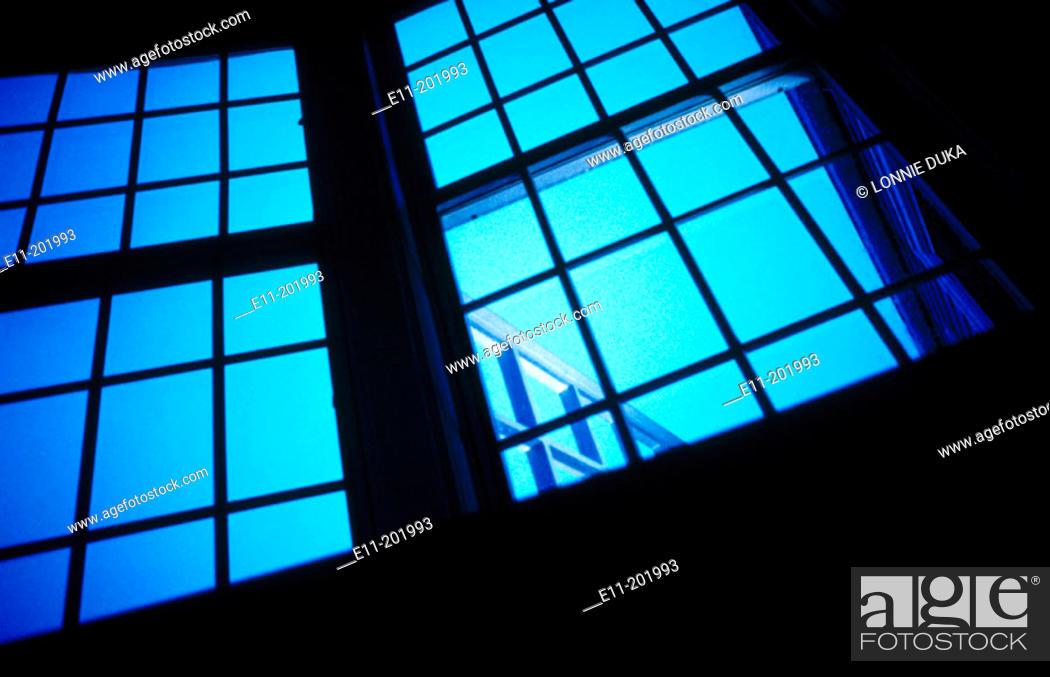 Stock Photo: Architectural window detail.