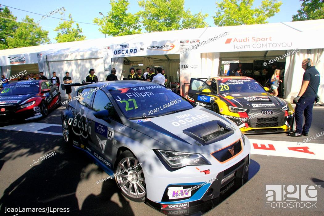 Stock Photo: J. Filippi, Cupra TCR #27, WTCR Race of Portugal 2018, Vila Real.