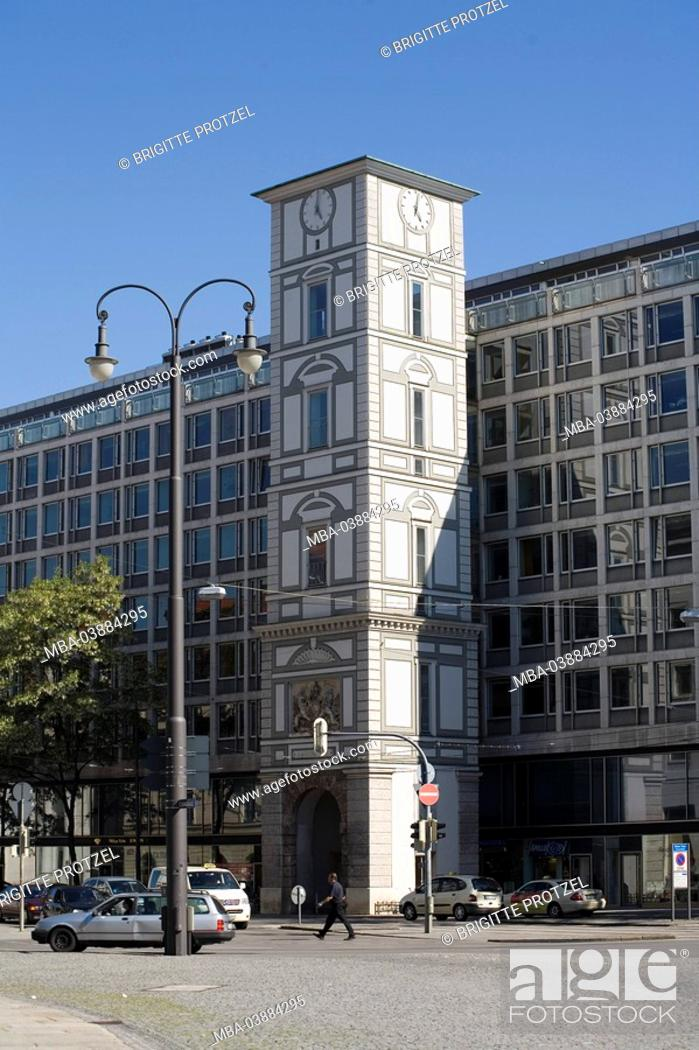Stock Photo: Germany, Bavaria, Munich, Pacellistraße, Maxturm,.