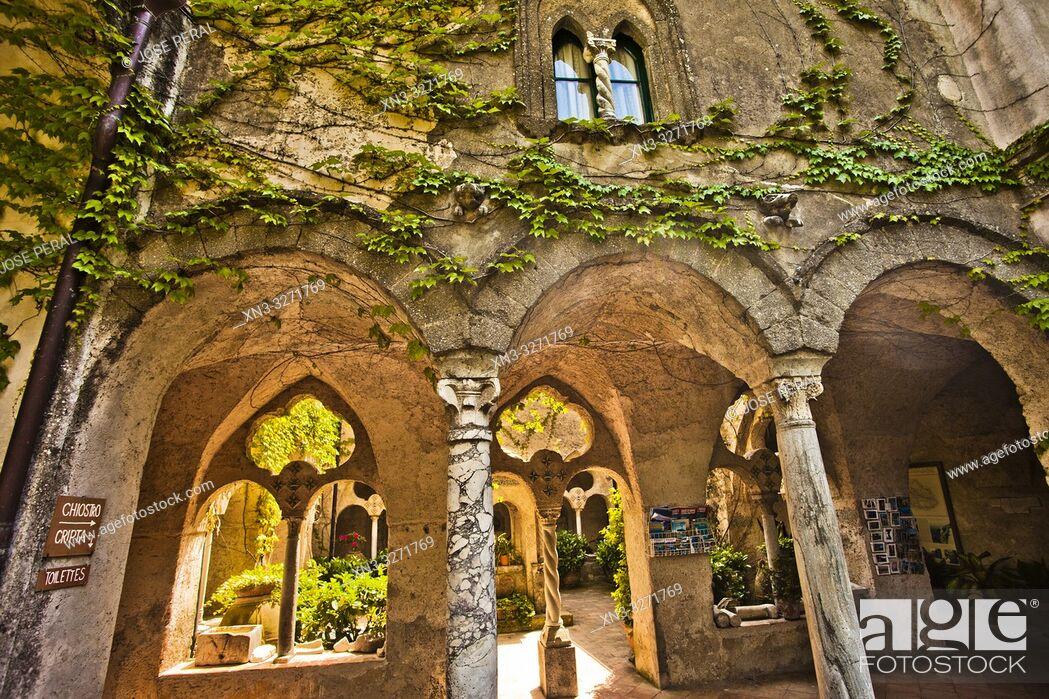 Imagen: Villa Cimbrone, Ravello, Amalfi coast, Campania, Italy, Europe.