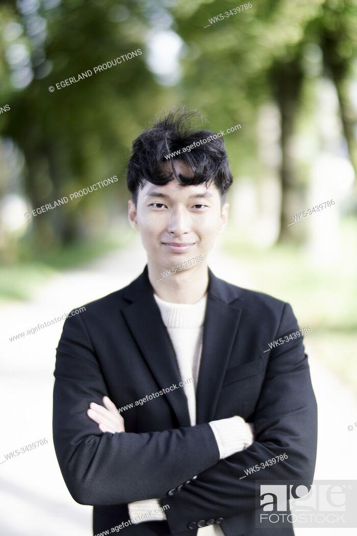 Photo de stock: Korean man.