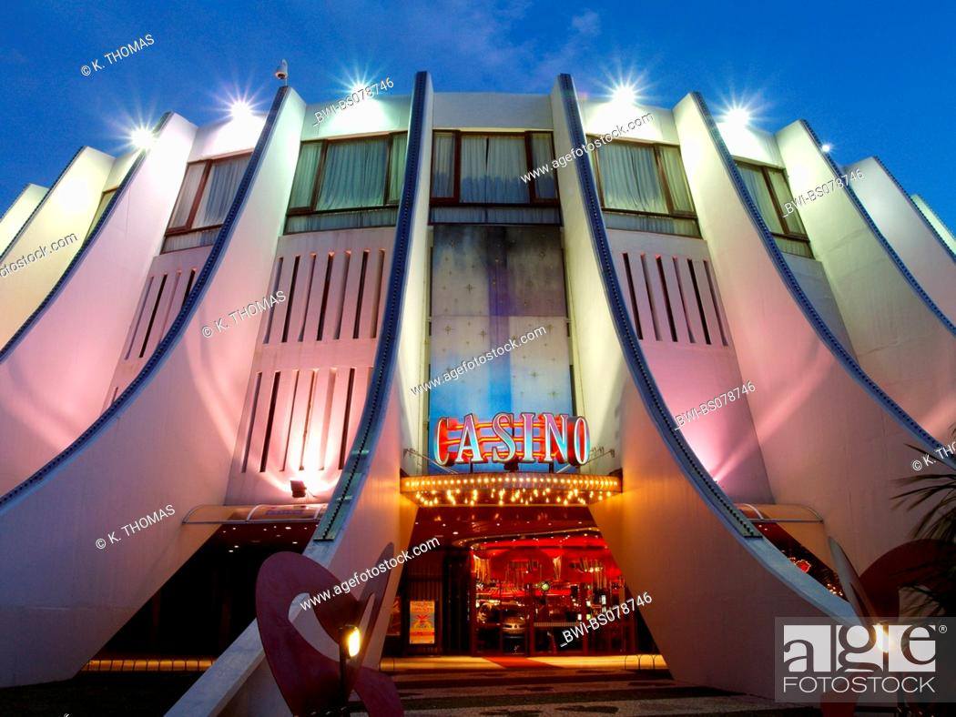 Casino Portugal Madeira Funchal Stock Photo Picture And