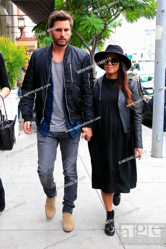 Photo Leaving Kylie Disick ' Scott Kourtney Nate De Spotted Kardashian Stock Jenner And ZqawRAZrv
