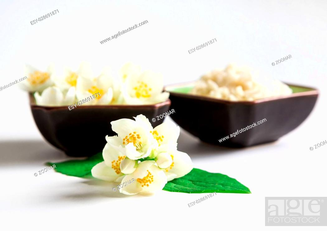 Stock Photo: vegetarian food, rice.