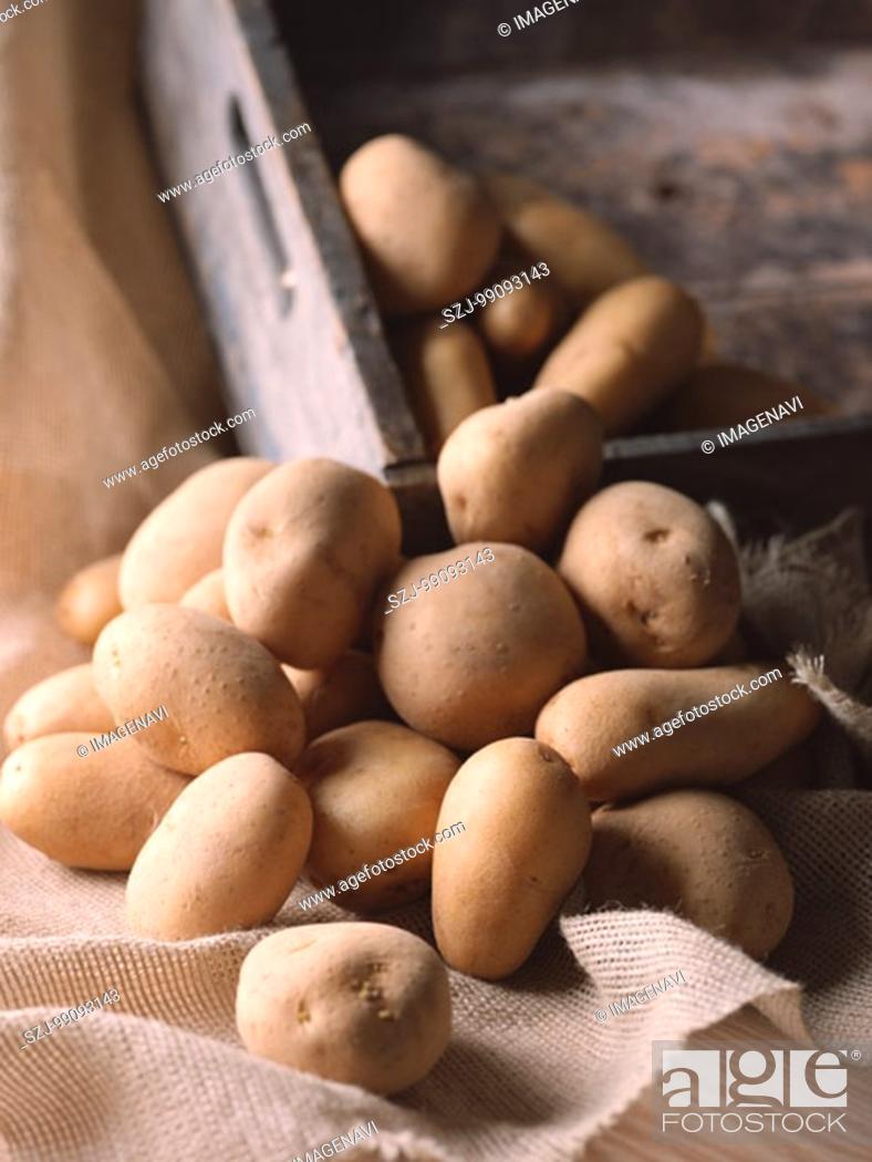 Stock Photo: Potato.