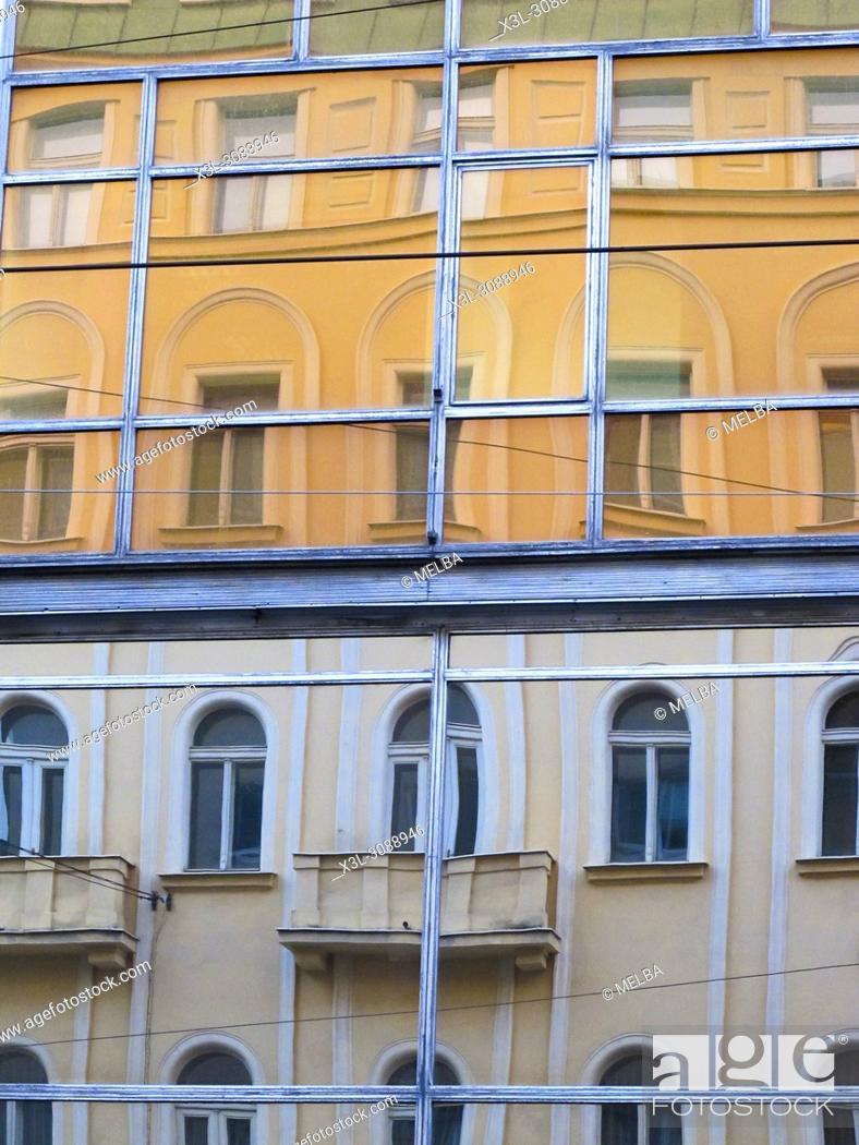 Stock Photo: Building. Prague. Czech republic.
