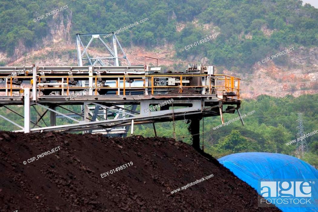 Stock Photo: Mining industry.
