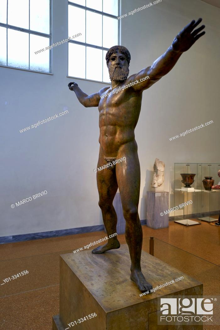 Stock Photo: Athens Greece. The National Archaeological Museum.