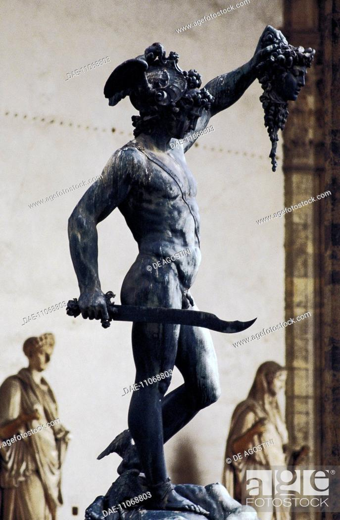 Perseus With The Head Of Medusa 1554 By Benvenuto Cellini