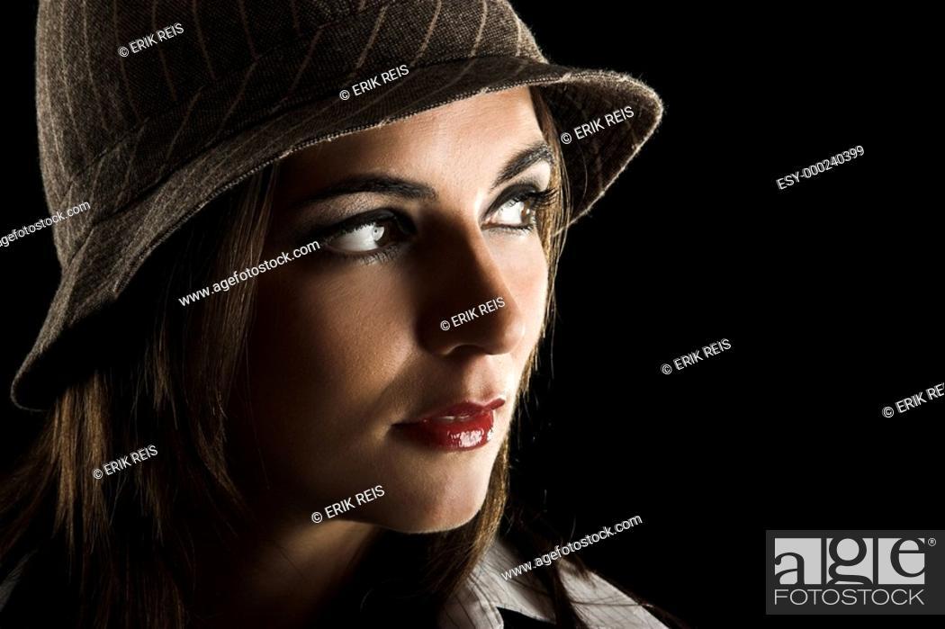 Stock Photo: Beautiful woman.