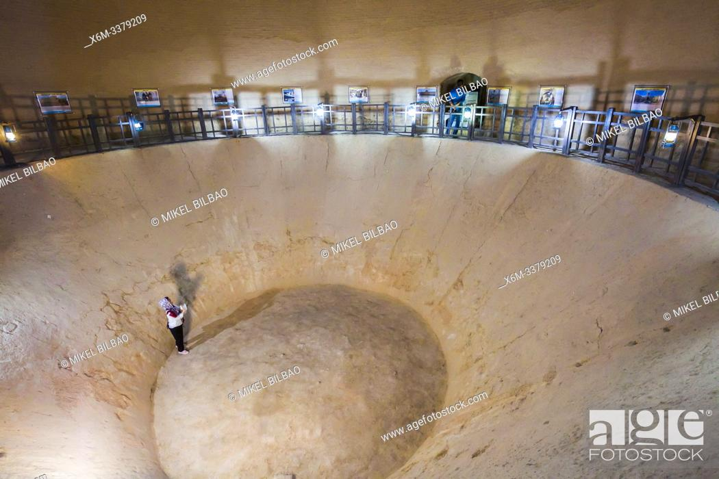 Stock Photo: Yakhchal (ice pit). Interior view. Meybod. Iran, Asia.