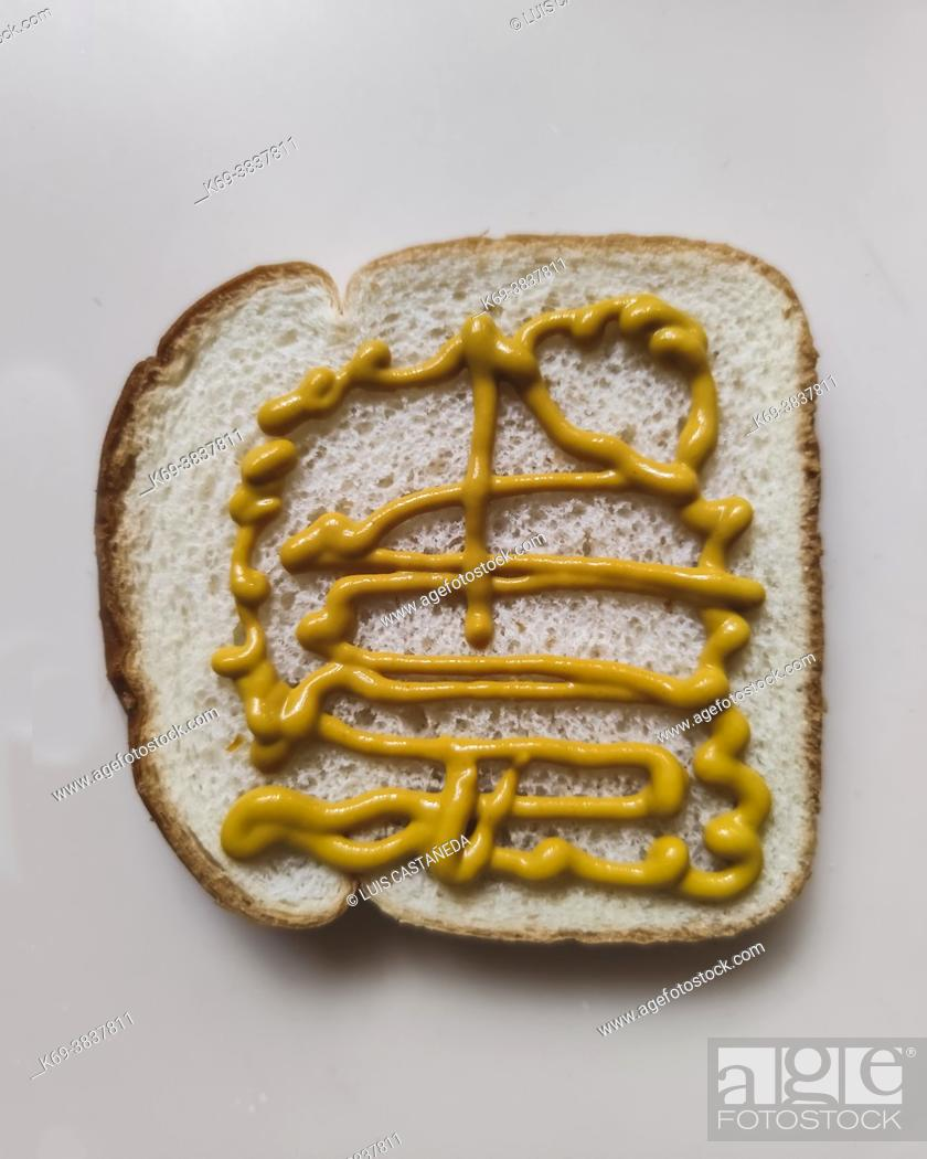 Imagen: Loaf of Bread with Mustard.