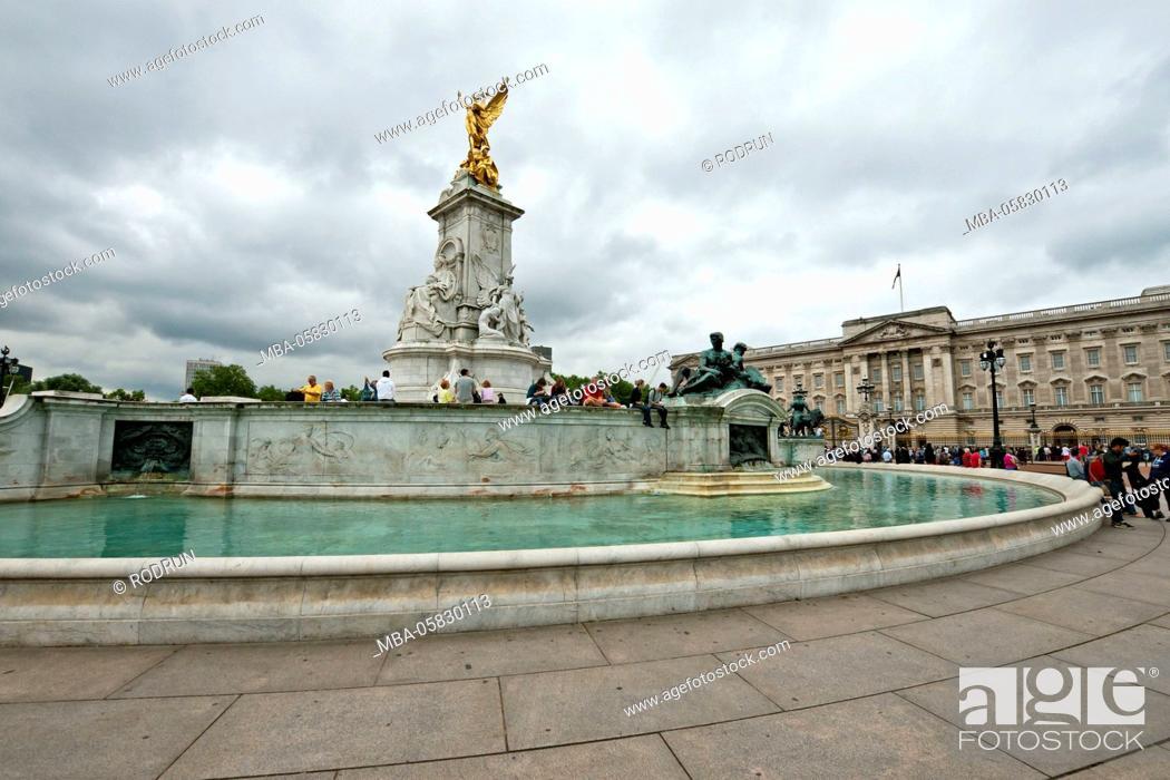 Imagen: Great Britain, London, 'Queen Victoria Memorial', Buckingham Palace.