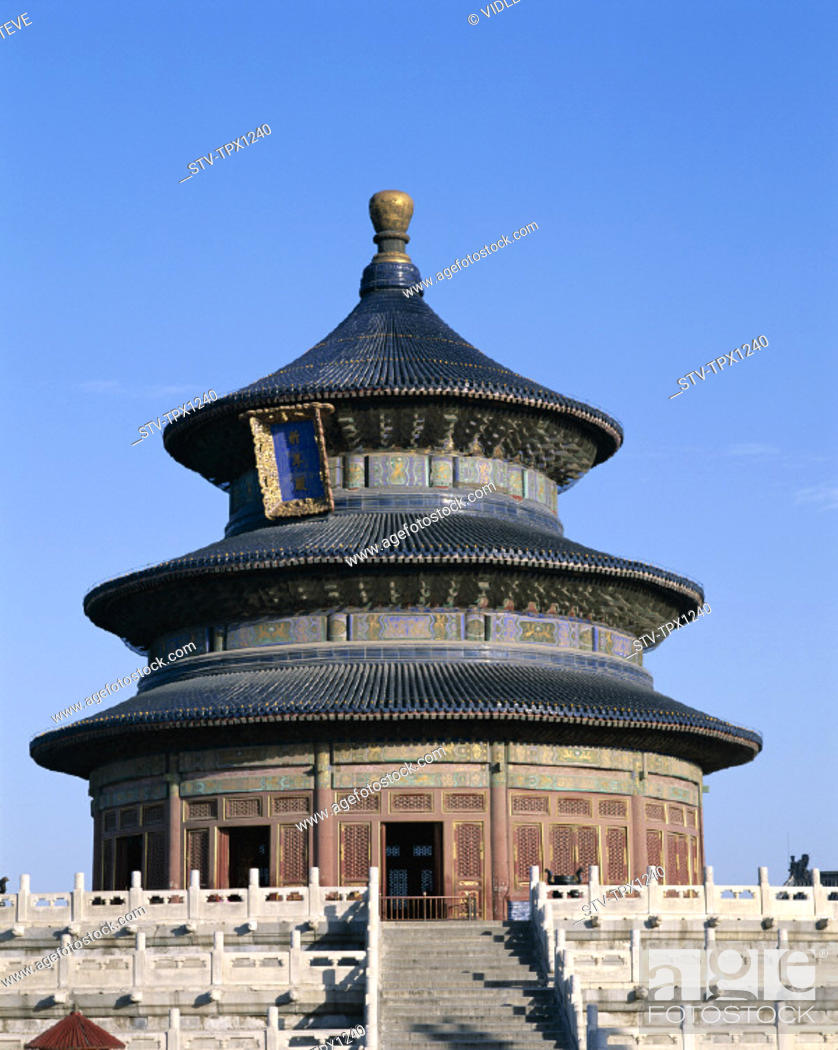 Imagen: Asia, Beijing, Peking, China, Dynasty, Heritage, Holiday, Landmark, Ming, Temple of heaven, Tourism, Travel, Unesco, Vacation, W.