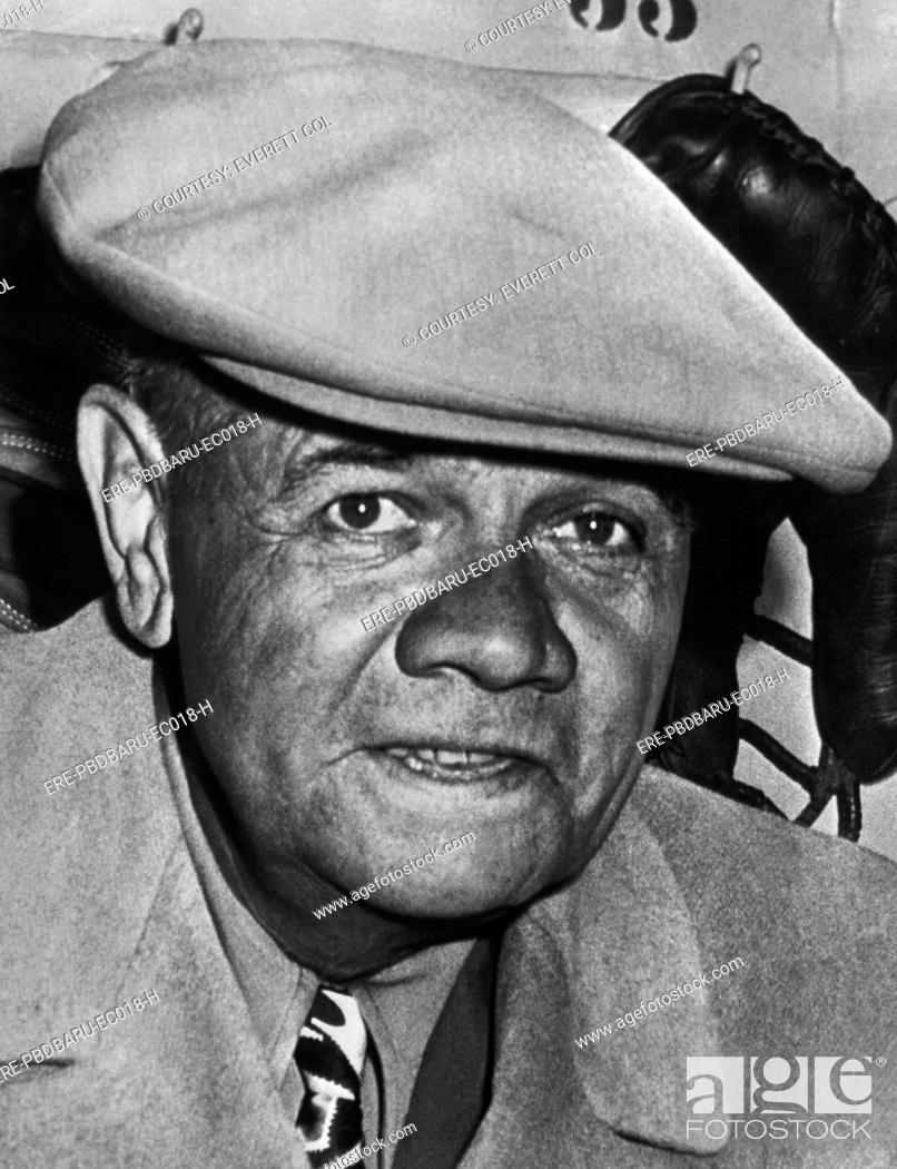 8e813744550 Stock Photo - New York Yankees. Retired outfielder Babe Ruth