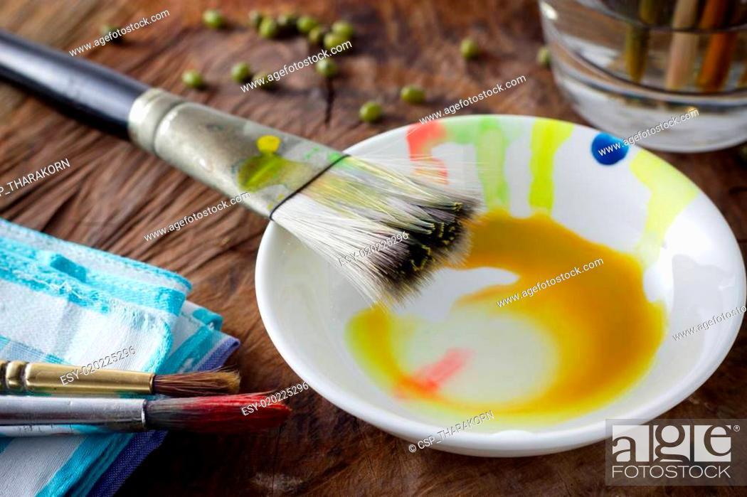 Imagen: Painting brushes.