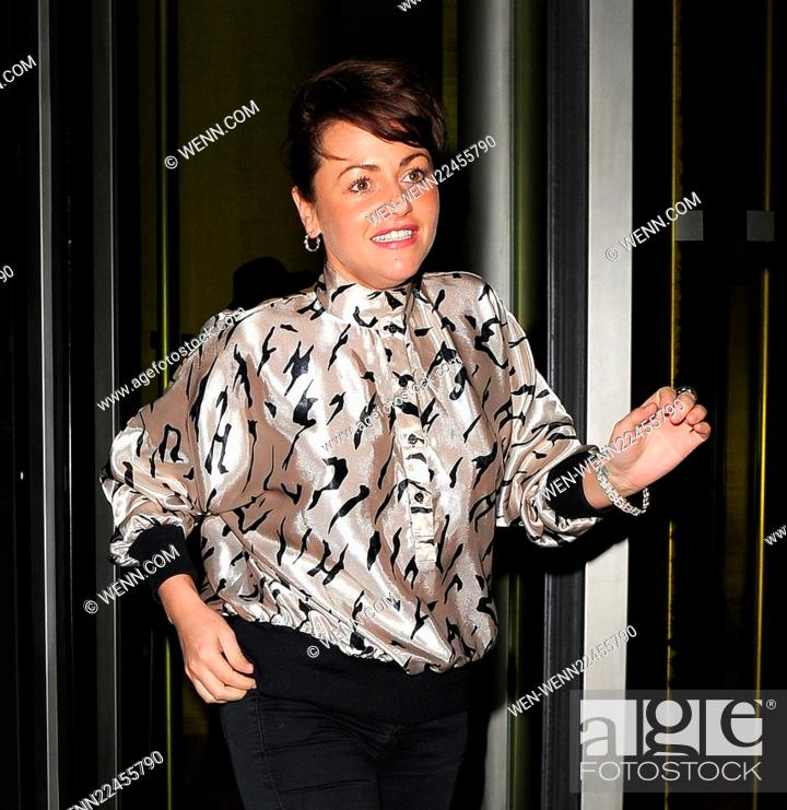 Stock Photo St Martins Lane Hotel Relaunch Party At Blind Spot Featuring Jaime Winstone