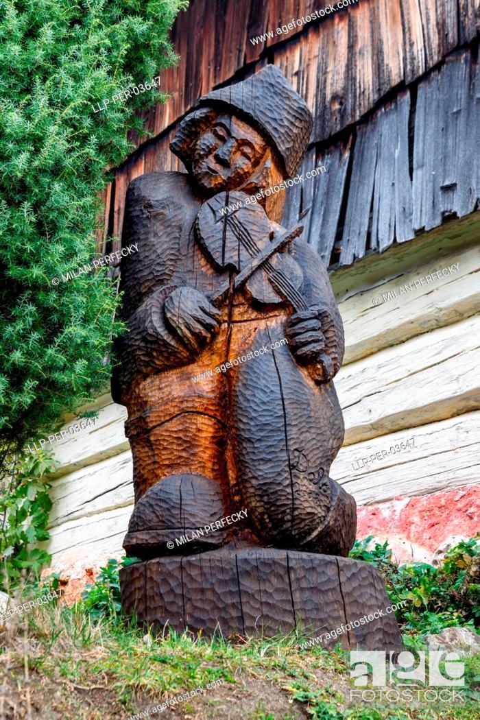 Imagen: Vlkolinec, Historical Village, UNESCO, Slovakia.