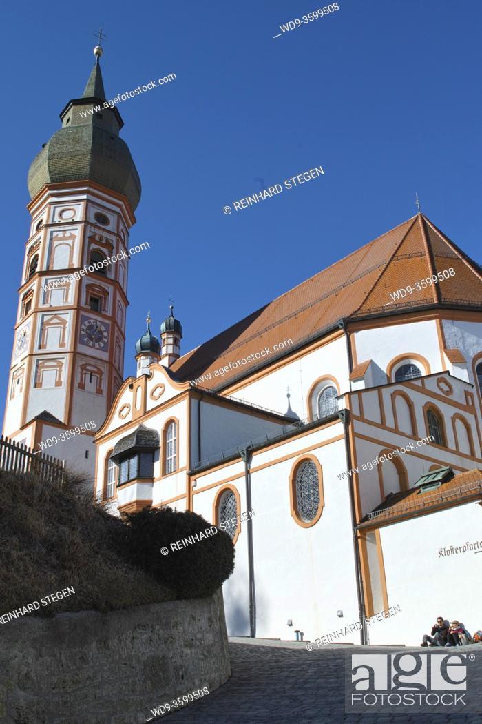 Imagen: monastery Andechs, monarchs brew beer, famous beer brewery.