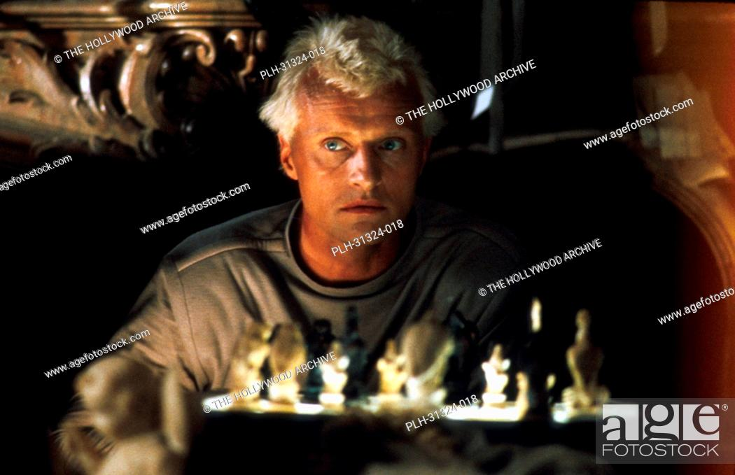 Stock Photo: Rutger Hauer, 'Blade Runner' 1982.