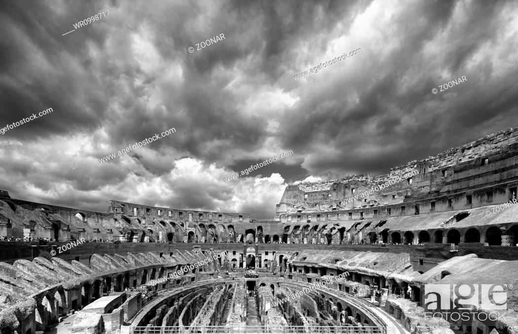 Stock Photo: The Colosseum.