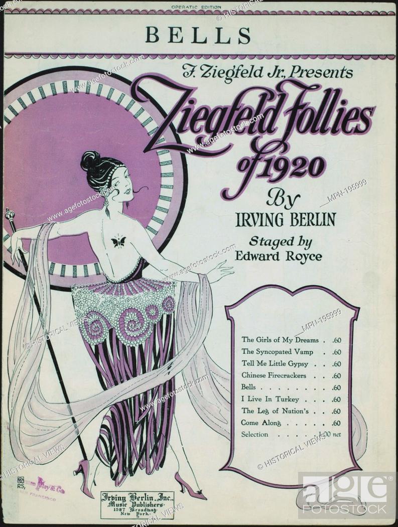 Imagen: Bells Additional title: Ziegfeld follies of 1920. Additional title: Ziegfeld follies. Bells. Vocal score. Grant, Charles N.