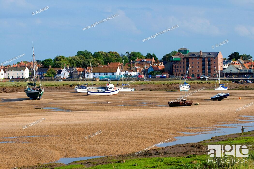 Stock Photo: England, Norfolk, Wells-next-the-Sea.
